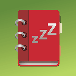 Sleep diary app icon
