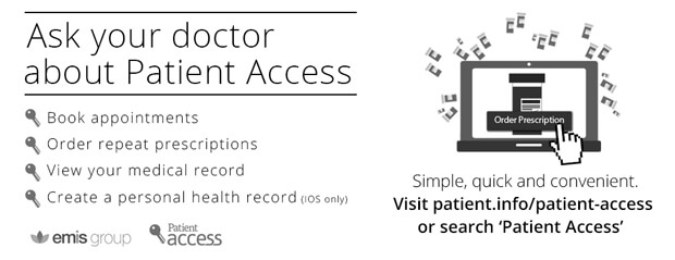 Patient Access app - find out more